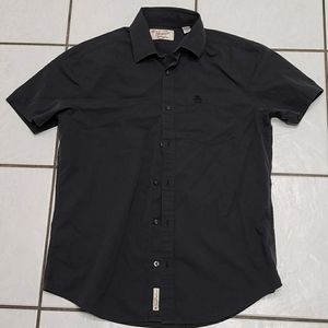 Med Black/Charcoal Grey Button down